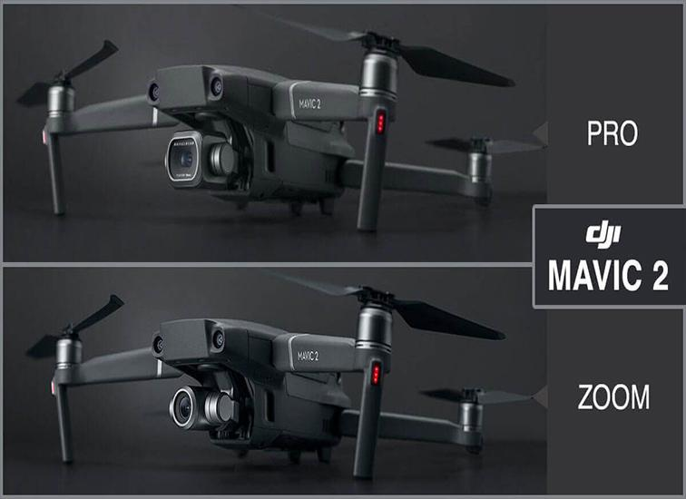 Mavic 2 Pro против Mavic 2 Zoom.