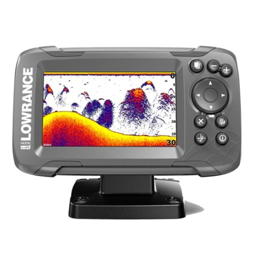 Эхолот Lowrance HOOK2-4x Bullet с GPS