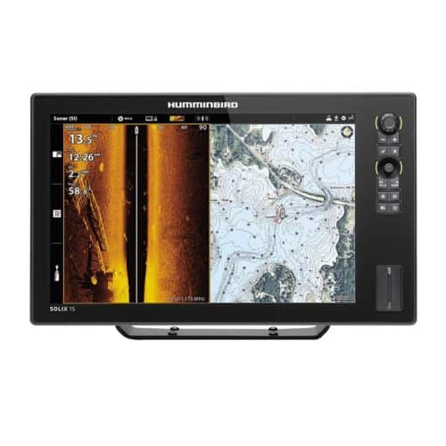 Эхолот Humminbird Solix 15 CHIRP MSI+ GPS G2