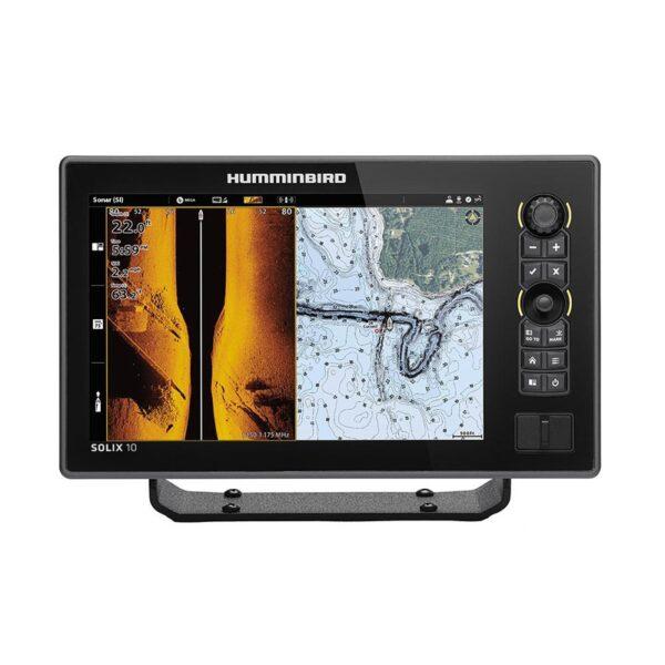 Эхолот HUMMINBIRD Solix 10 CHIRP MSI+ GPS G2