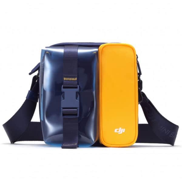 Фирменная мини-сумка DJI Mini (Желто-голубая)